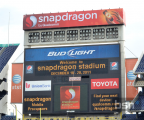 Qualcomm Stadium Now Snapdragon Stadium from Dec. 18th to the 28th