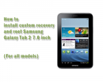 How to Root Samsung Galaxy Tab 2 7.0 and Install Custom Recovery