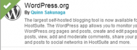 Hootsuite Can Publish to Your Wordpress Blog